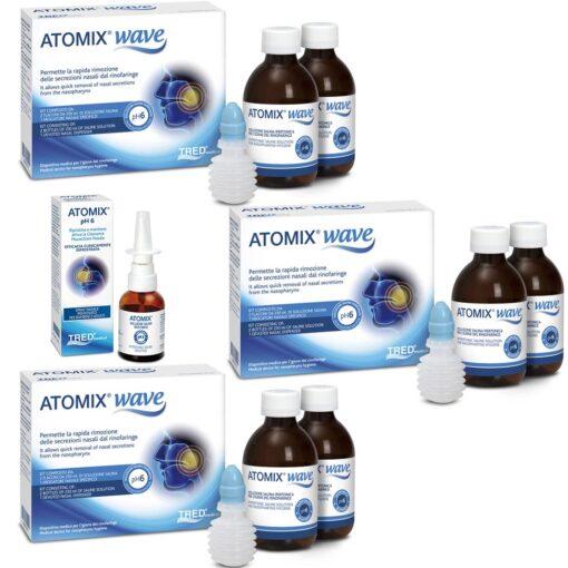 atomix wave+atomix spray